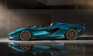 Lamborghini introduces the new Sian Roadster 1 car