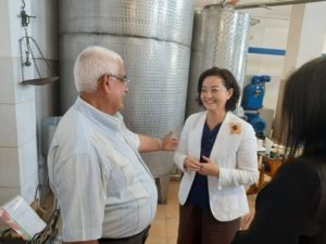 Ambassador Kim visits the olive oil factory in Qeparo / Opened the export route, created jobs 1