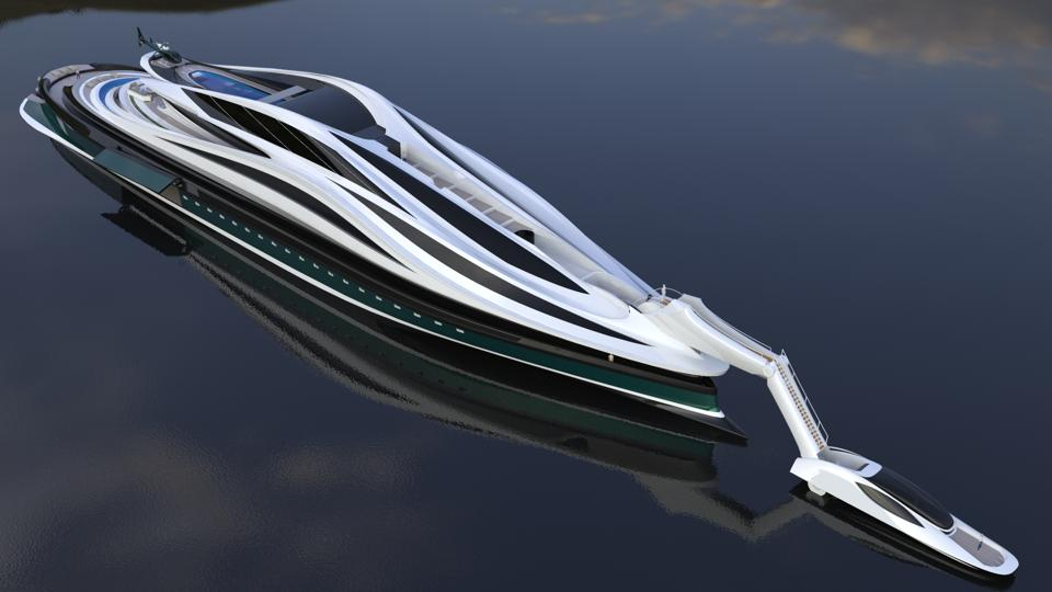 Is the swan-shaped yacht the craziest megayacht model for 2020? 2