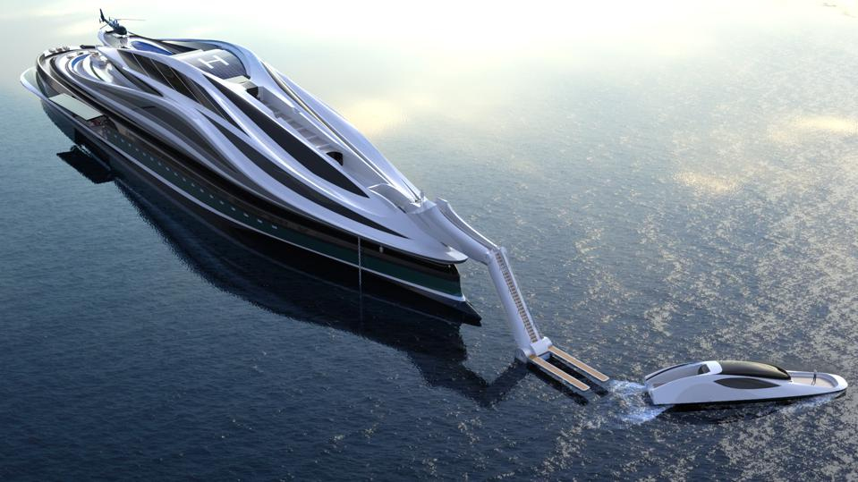 Is the swan-shaped yacht the craziest megayacht model for 2020? 3