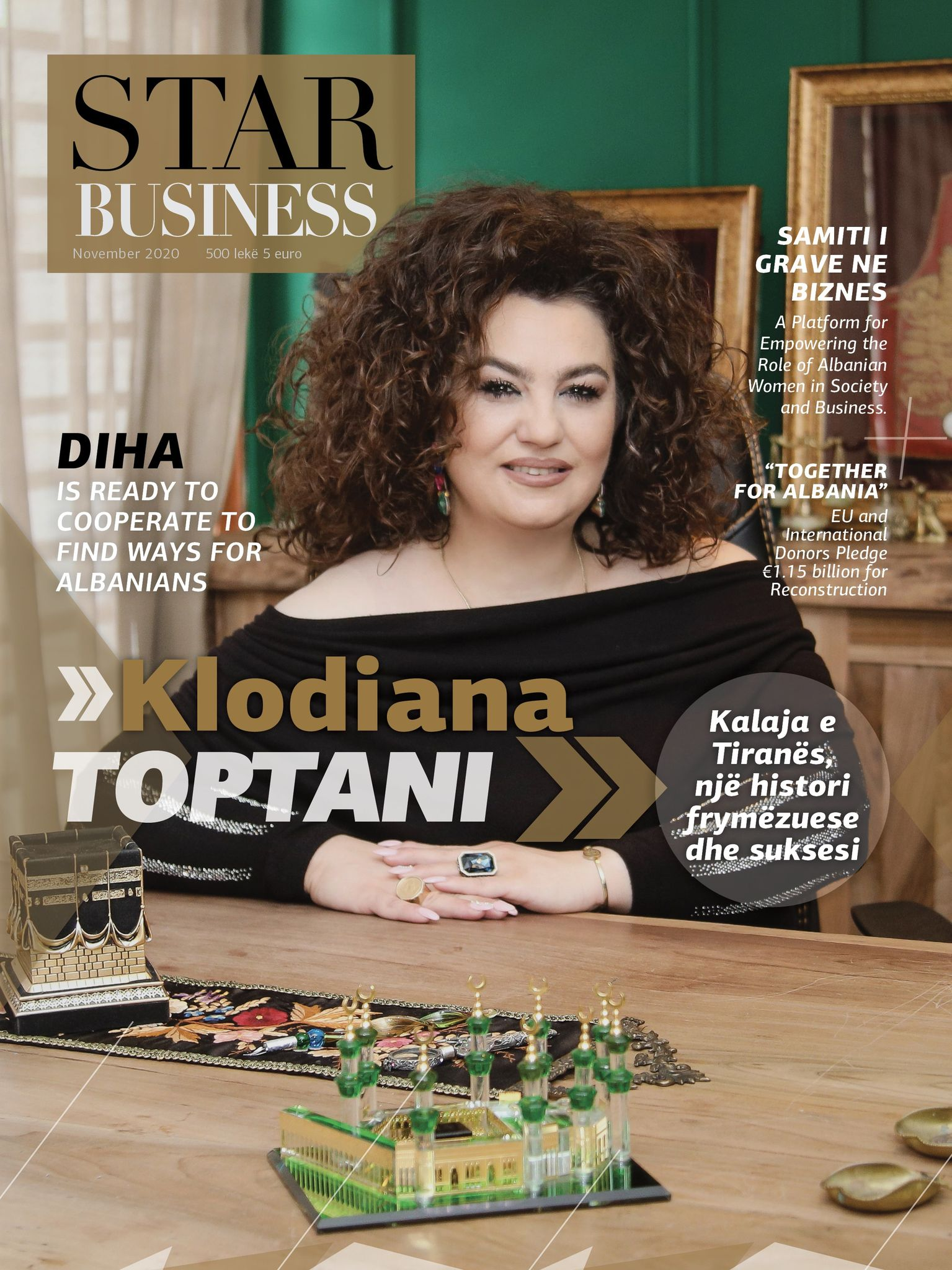 Klodiana Toptani - Tirana Castle, an inspiring and successful story 1